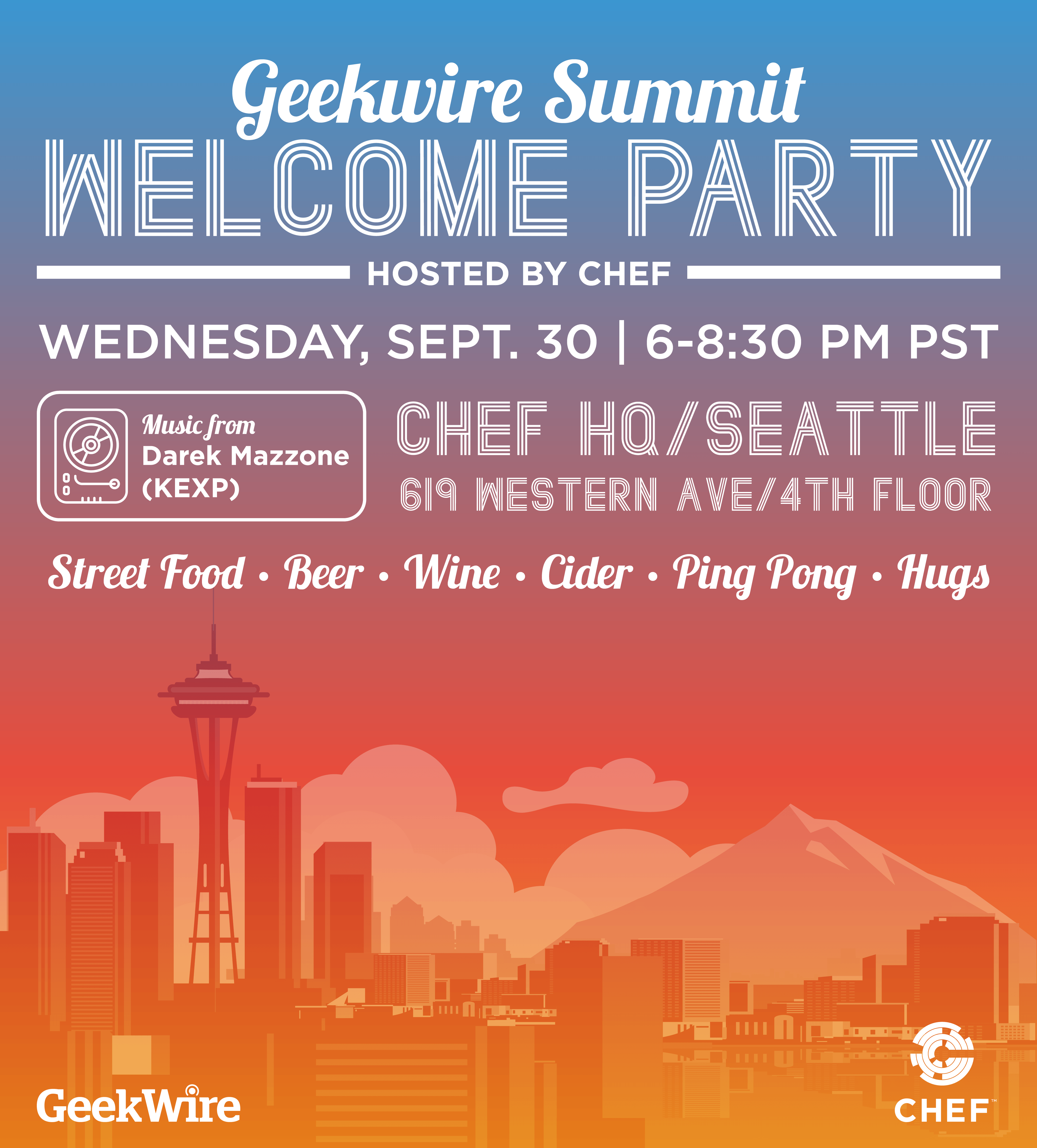 geekwire party poster-01