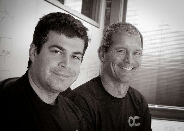 Opscode CEO Mitch Hill and Opscode Cofounder & Chief Community Officer Jesse Robbins